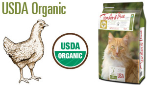 Organic Chicken and Liver Cat Food