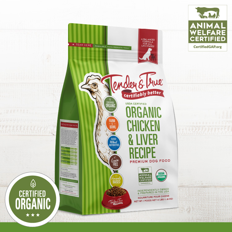 Organic Pet Food Certified Humanely Raised